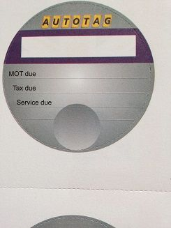 Tax Disc Reminders