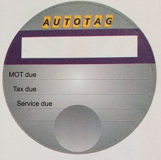 Autotag Tax Disc-style Reminders