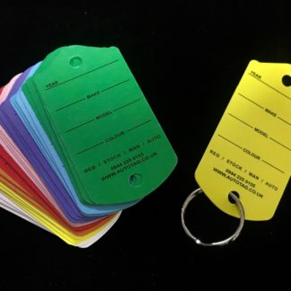 Environment-Friendly Key Tags